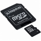 Memory Card KINGSTON micro-SD 4Gb com adaptador SD