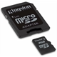 Memory Card KINGSTON micro-SD 2Gb com adaptador SD