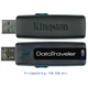 Pen Drive KINGSTON DT100/16Gb Unidade flash USB (Preto) DATA TRAVELER