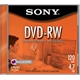 MÍDIA SONY DVD-RW REGRAVÁVEL 4.7GB 2X 120MIN. - BOX